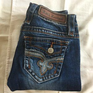 ROCK REVIVAL Pavo bootcut jeans | 25 | EUC
